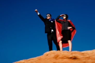 superhero-businesspeople